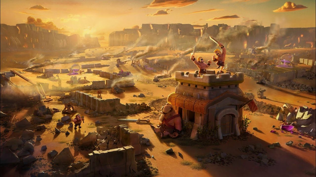 clash of clans video Town hall upgrad