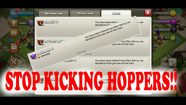 Why we shouldn't kick HOPPERS? | Clash of Clans | #Rant