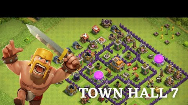 Clash Of Clans | Town Hall 7 Gameplay