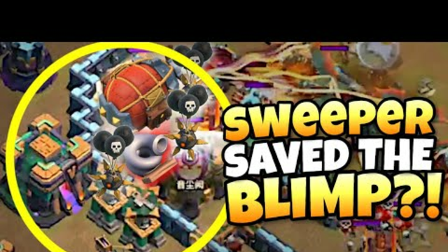 SWEEPER SAVED HIS BLIMP?! INSANE LUCK with WINNER going to CLASH WORLDS QUALIFIERS! Clash of Clans