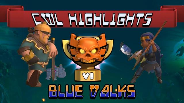 CWL June Highlights | Day 6 | Blue Valks | Clash of Clans