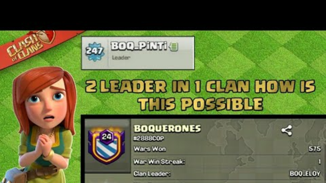 2 Leaders In One Clan l Coc New Glitch ? How This Possible 2 Leader In 1 Clan Coc l Clash Of Clans