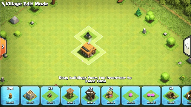 clash of clans Town hall 3 defense base 2021