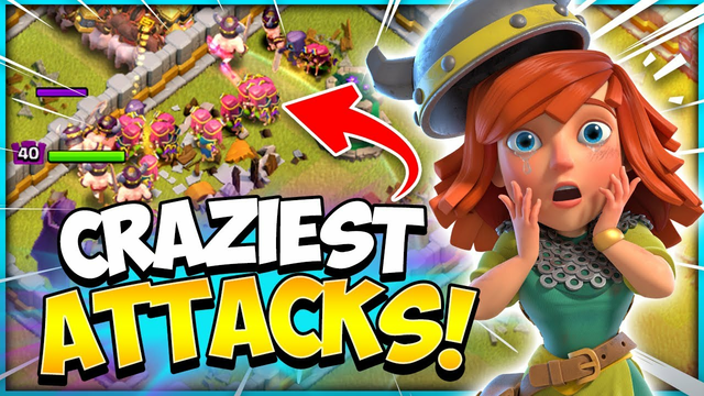 Most Insane TH12 Attacks Ever! Best Attacks in Roulette War (Clash of Clans)