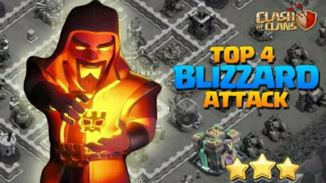 Th 14  top 4 attack strategy  With blizzard attack | Clash of Clans
