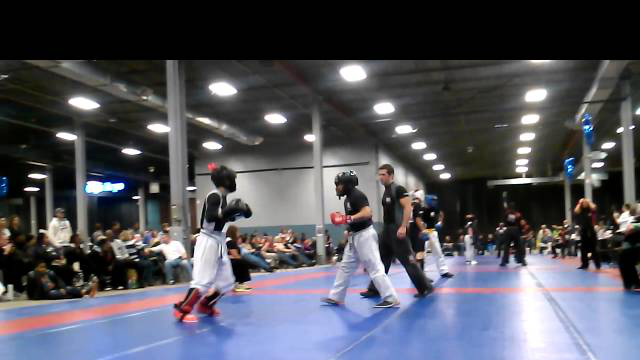 COC Kickboxing Brandon correa Match 1 - 12-9-12