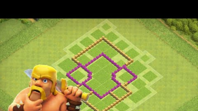 The best Th6 hybrid/trophy pushing base(coc) clash of clans