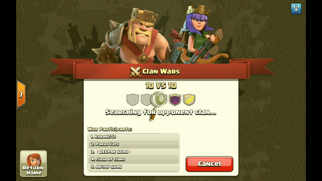 Playing Clash of Clans with TH6