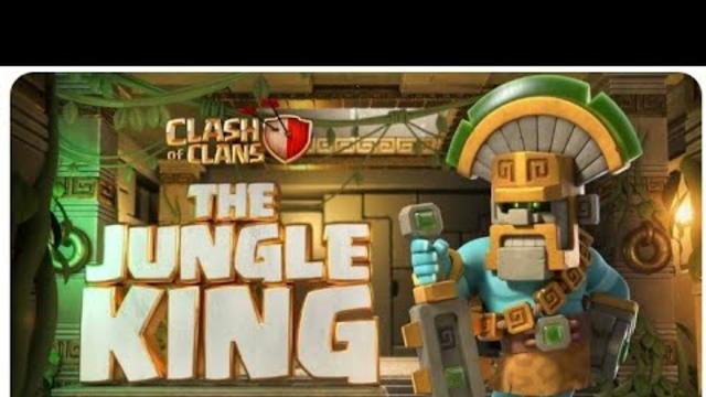 New Season, New Hero Skin! The Jungle King (Clash Of Clans 2021)