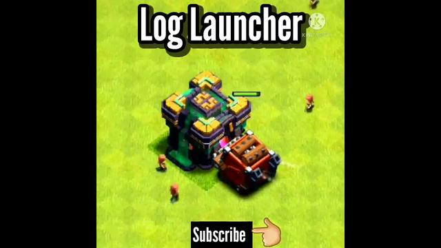 Log Launcher VS TH 14 Giga Inferno||Clash of Clans