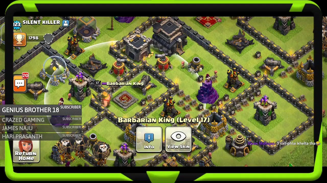 COC LIVE // BASE VISIT AND ATTACKS