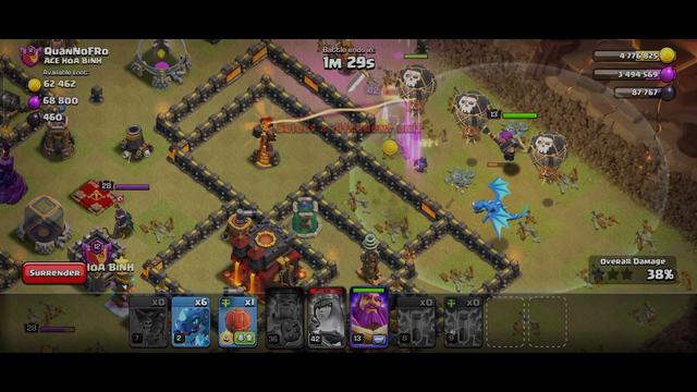 Clash of clans (clan war)