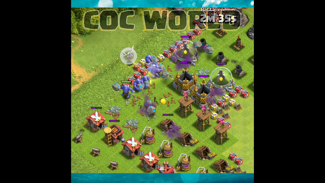 TH8 Noob Trolling Base | Clash of clans | #coc #shorts