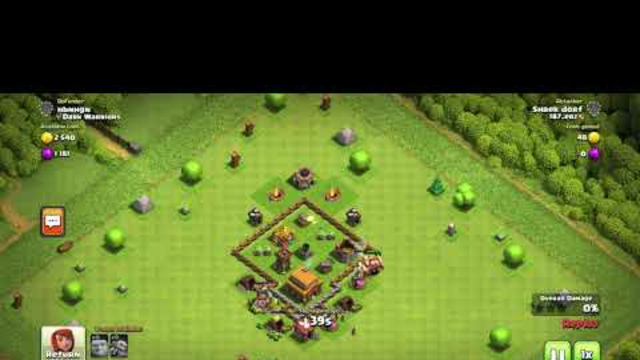 Good TH3 Layout! Clash Of Clans