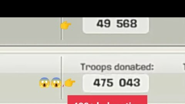 Most donation clan in coc (clash of clans)