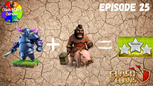 Pekka Hog Rider TH9 Attack Strategy | Clash of Clans | Clash of the Curious Ep. 25