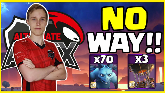 Clash of Clans WORLD CHAMPION Does The CRAZIEST Attack!