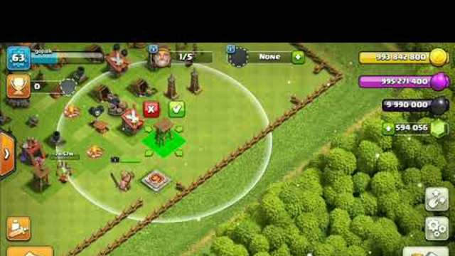 Town hall 1 to 14 in 16min 50 sec Clash of clans (GAMEPLAY)