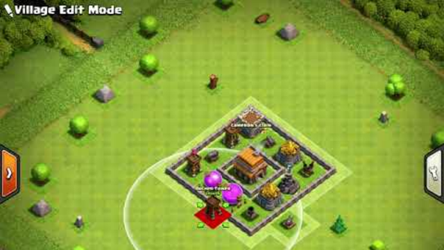 Creating a TH5 Base in Clash of Clans
