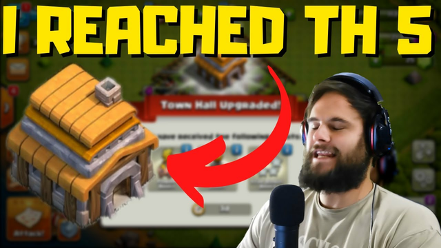 I reach Town Hall 5 | So many new Things | Clash of Clans