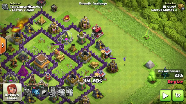 Clash of Clans: Crazy powerful ZapDragons at TH8, War and Trophy pushing! (Read desc)