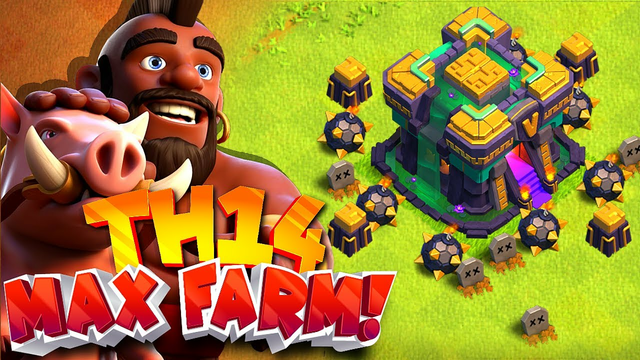 How To Upgrade FAST!! (Th14 Max farming series) Clash of clans