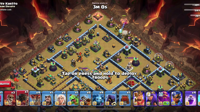 #Clash of clans | Easy way to get 3 start in COC | world championship | New event |