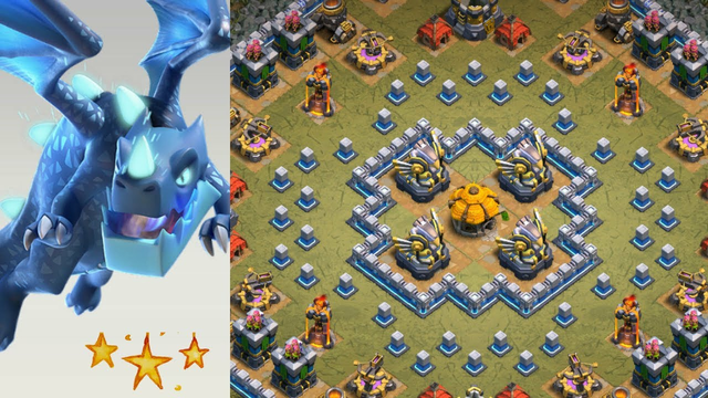 How to easily 3 star Besiege clash of clans using Electro/Air troops TH11.