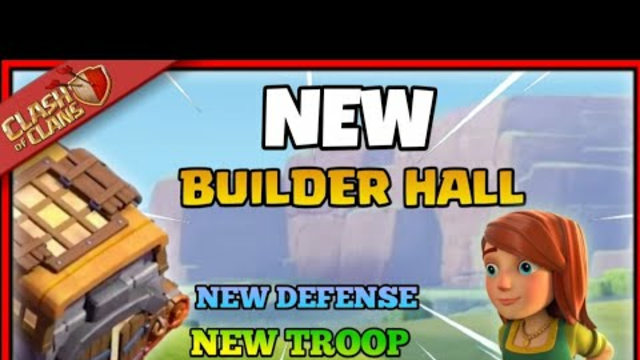 NEW UPDATE-  Builder hall 10 coming| clash of clans bulder hall 10, New troop,new defence,new hero