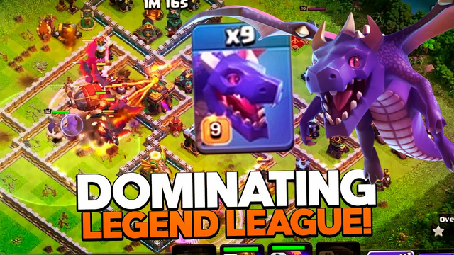 Dragon Strategy TH14 DOMINATING Legend League RIGHT NOW!! Clash of Clans