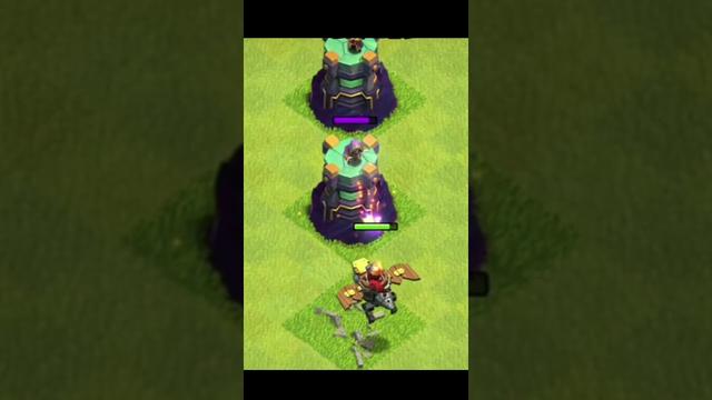Max Dragon Rider Vs 5 Wizard Tower (Clash Of Clans)