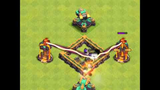 Party Wizard vs Deadly Defense | Clash of clans | #coc #partywizard #shorts
