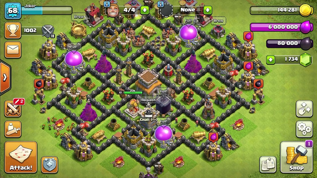 #clash of clans #town Hall8 #MAX