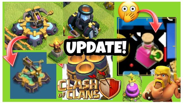 CLASH OF CLANS - UPCOMING UPDATE ! NEW LEVELS | NEW POTION | NEW ANNIVERSARY CAKE | SOMETHING NEW |