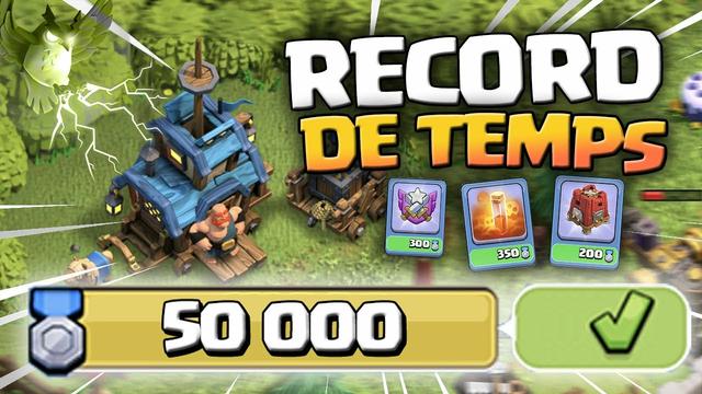20 MINUTES POUR FAIRE LES 50.000 POINTS AUX JEUX DE CLAN ?! Clash of Clans