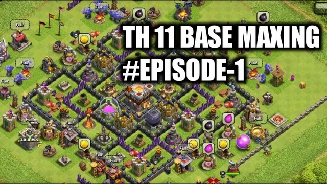 TH 11 FREE TO PLAY #1   CLASH OF CLANS