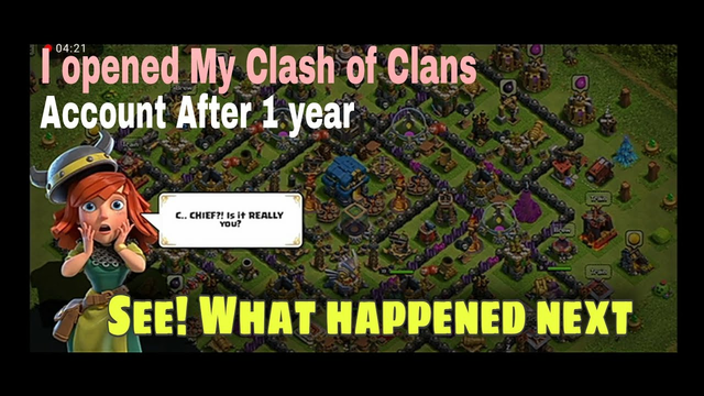 I played Clash OF Clans after a year   Here's what happened after that   Did My base self-upgraded ?