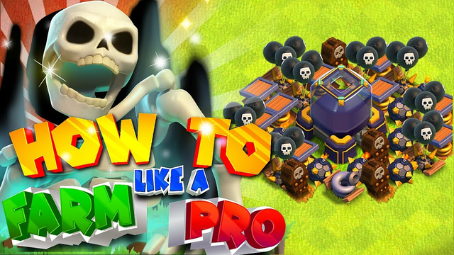How to farm like a PRO!  (Th14 Max farming series) Clash of clans