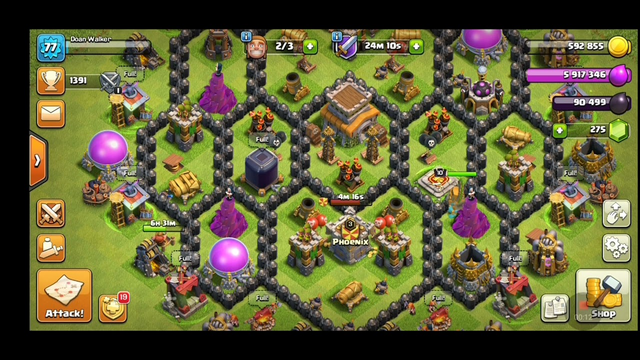 Best Attack th 8 Part II Clash of Clans