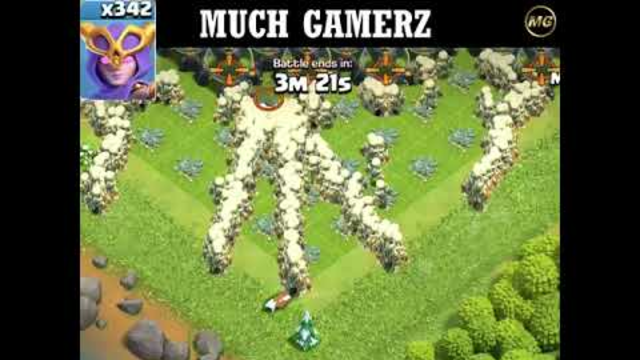 MOST SATISFYING ATTACK EVER IN CLASH OF CLANS   MUCH GAMERZ #short #shortvideos