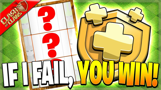 IF I FAIL I GIVE AWAY GOLD PASSES! (Clash of Clans)