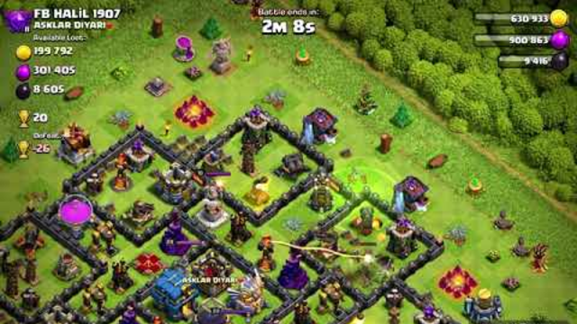 Attacking Loot With Super Goblind|Clash Of Clans|