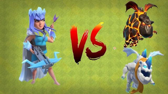 Max Level Archer Queen vs Lava    Clash of Clans
