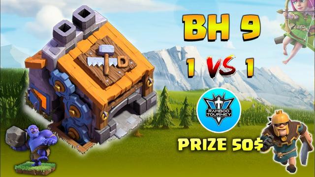 BuilderHall 9 | 1vs1 | Finals | Tournament | Clash of Clans | CoC