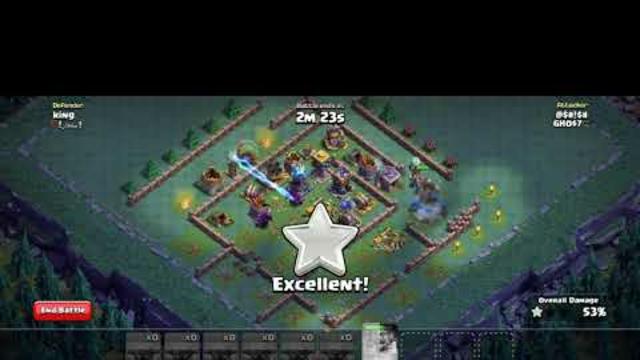 builder's hall ,pekka strike ,3 star #clash of clans
