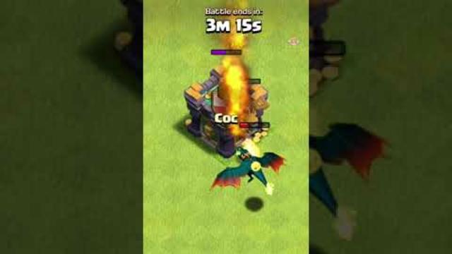 MAX Dragon vs MAX Dragon Rider | Fire or Cannons? | Clash of Clans