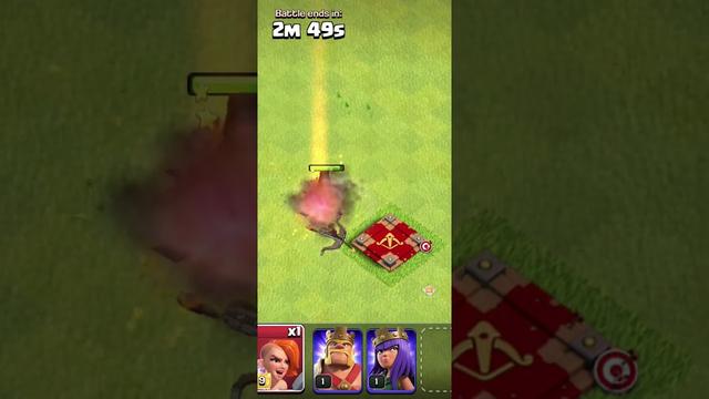MAX Super Valkyrie vs Level 1 Archer Queen | Clash of Clans