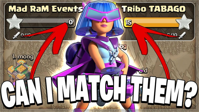 Can I Match Their PERFECT War? (Clash of Clans)