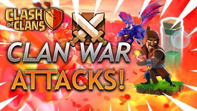Clash of Clans Easy Clan War Attacks!!