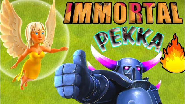 Making PEKKA IMMORTAL   PEKKA VS HEROES   Clash of Clans